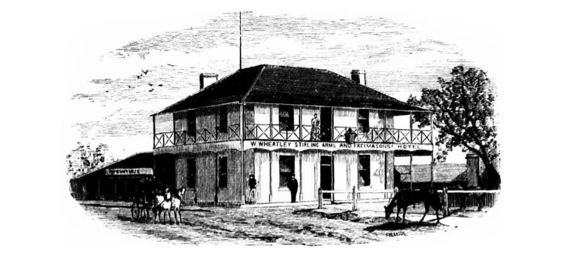 Historic Image of The Stirling Arms Guildford