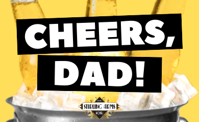 Father's Day 2021 at The Stirling Arms Hotel Guildford